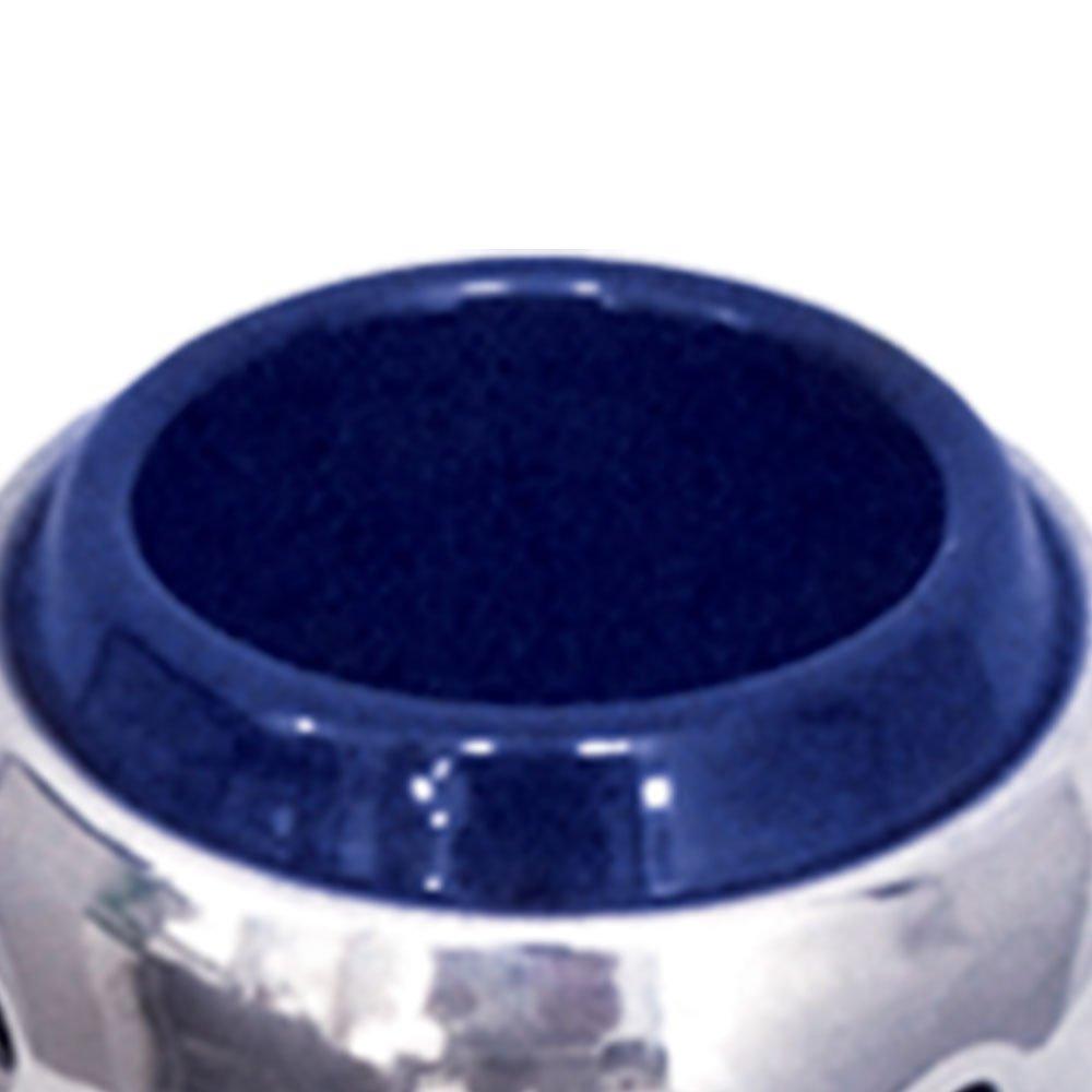 Ponteira para Escapamento Linha Turbo 032 Curva 2 1/16 Pol. Azul - Imagem zoom
