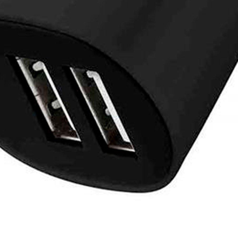 Carregador Automotivo Smartogo Preto com 2 Portas USB - Imagem zoom