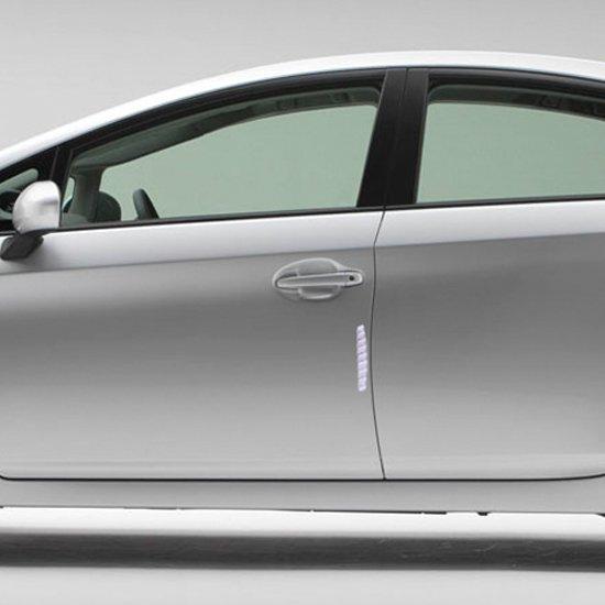 Protetor de Porta Flexível Transparente com Adesivo  - Imagem zoom