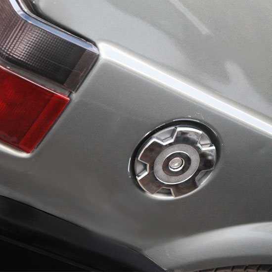 Aplique Cromado Tampa de Combustível Gol-Saveiro.../94  - Imagem zoom