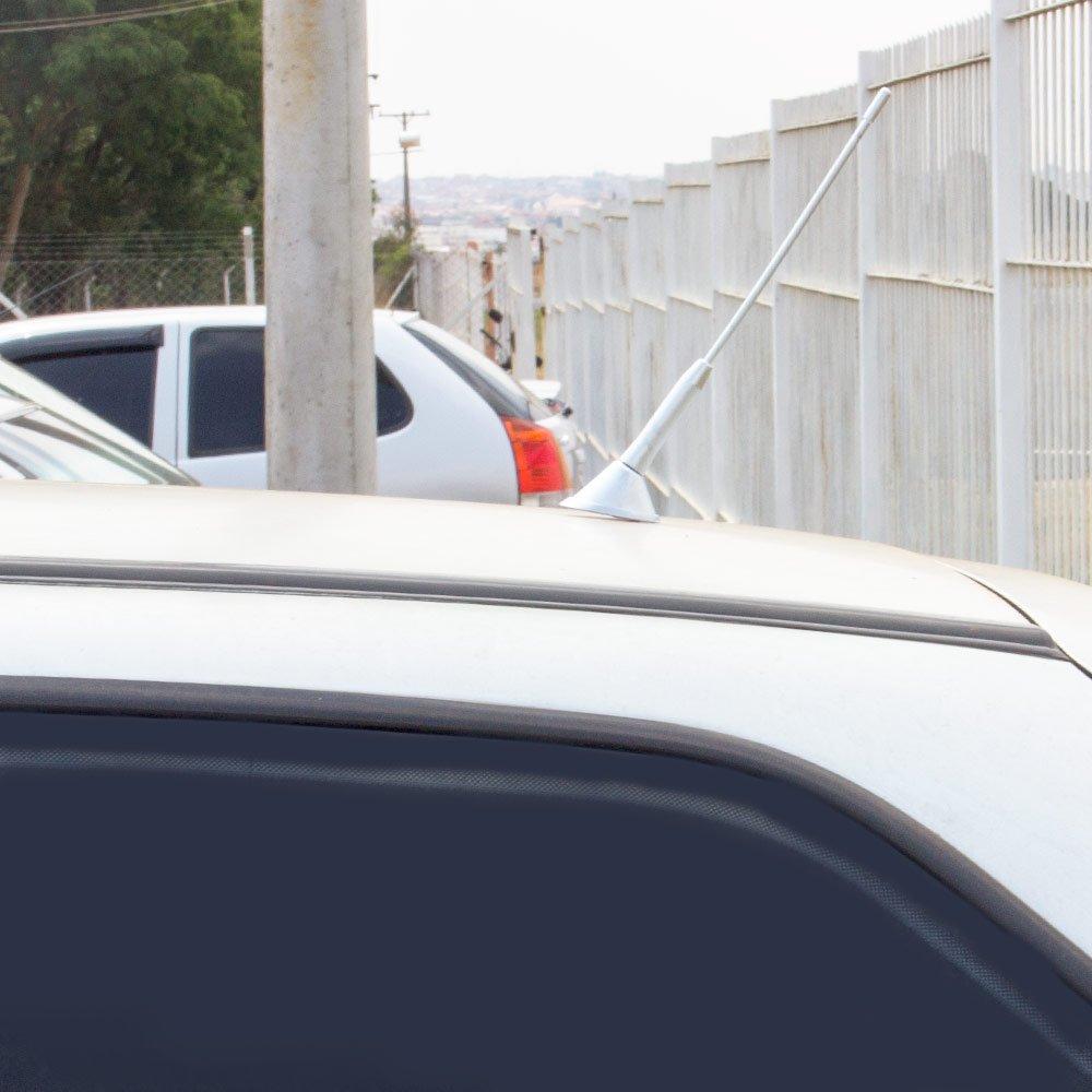 Antena Decorativa de Teto Traseira - Cromo - Imagem zoom