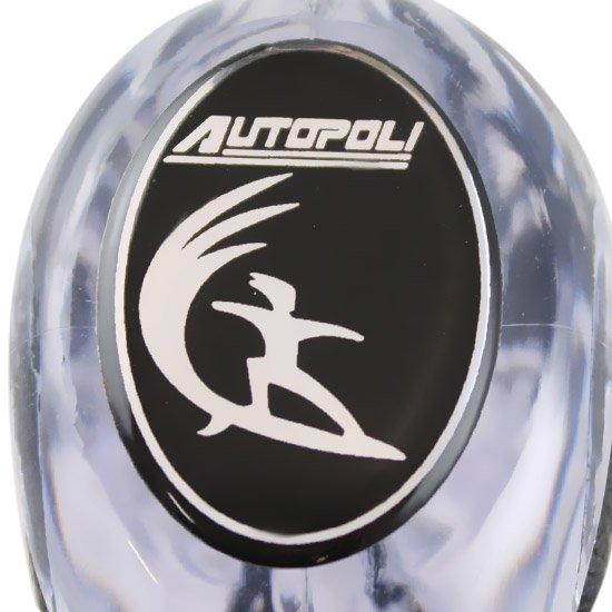 Bola Câmbio Sport Surf Transparente e Preta - Imagem zoom