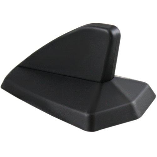 antena tubarão decorativa preto fosco