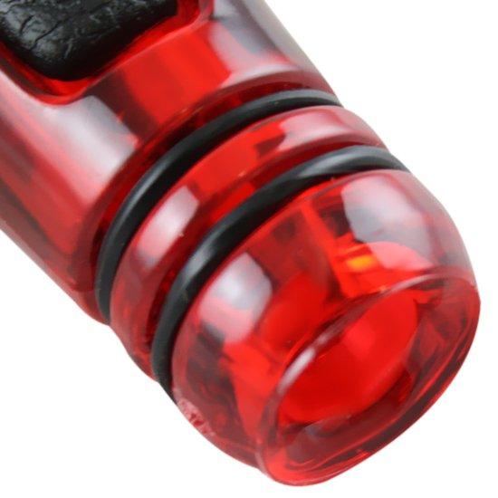 Manopla de Câmbio Sport Line 5 Marchas Vermelho - Imagem zoom
