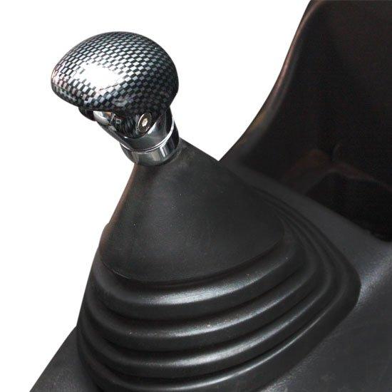Bola Câmbio Rally Carbono Preto - Imagem zoom