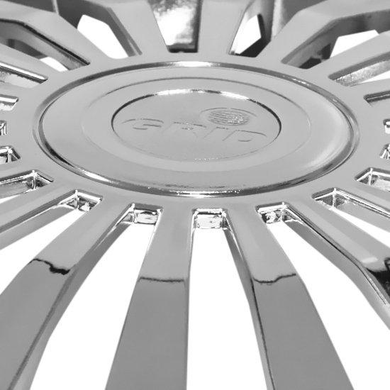 Calota Europa Metálica Cromado Aro 13 Pol. - 01 Unidade - Imagem zoom