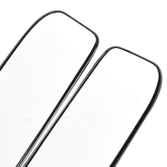 Aplique Cromada para Maçaneta Externa da Porta do Astra e Zafiras com 02 Peças - Imagem zoom