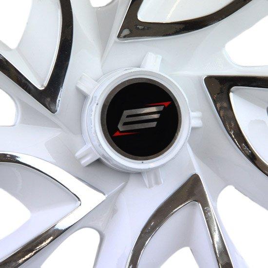 Calota DS4 Aro 14 White Chrome Cubo 4 x 100/ 4 x 108 - 01 Unidade - Imagem zoom