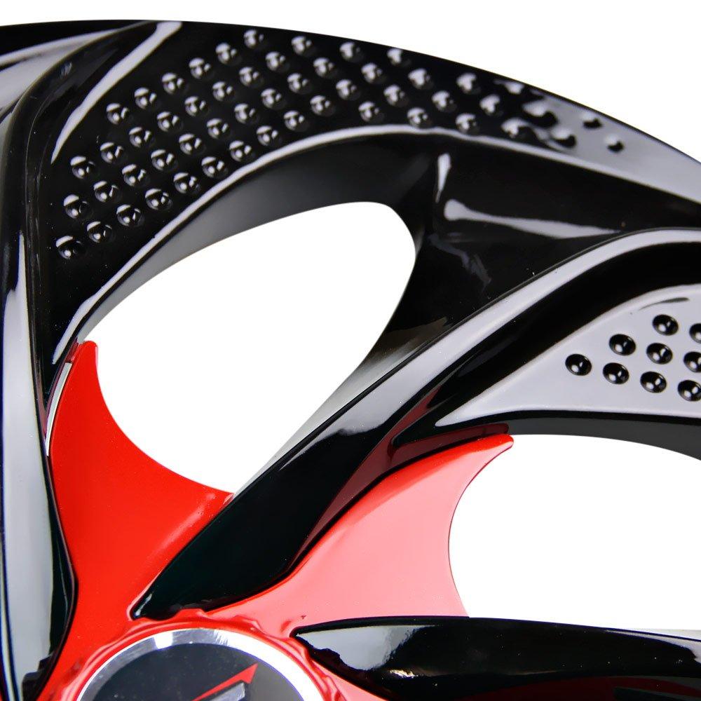 Calota Esportiva Aro 14 Evolution Cubo Alto 4 x 100/ 4 x 108 - Black / Red - 01 Unidade - Imagem zoom