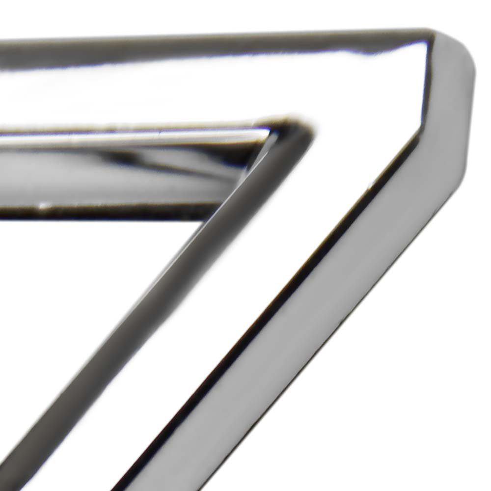 Número 7 Cromado em ABS 39 mm - Imagem zoom