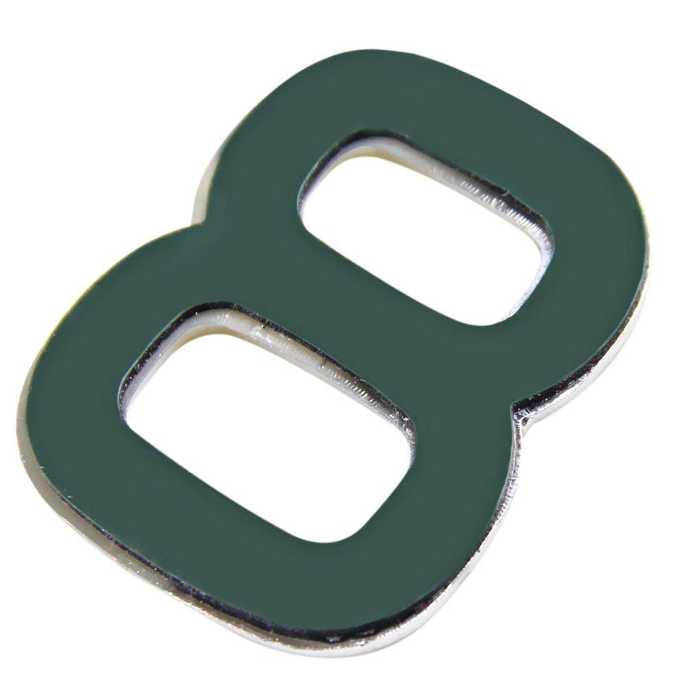 Número 8 Cromado em ABS 39 mm - Imagem zoom