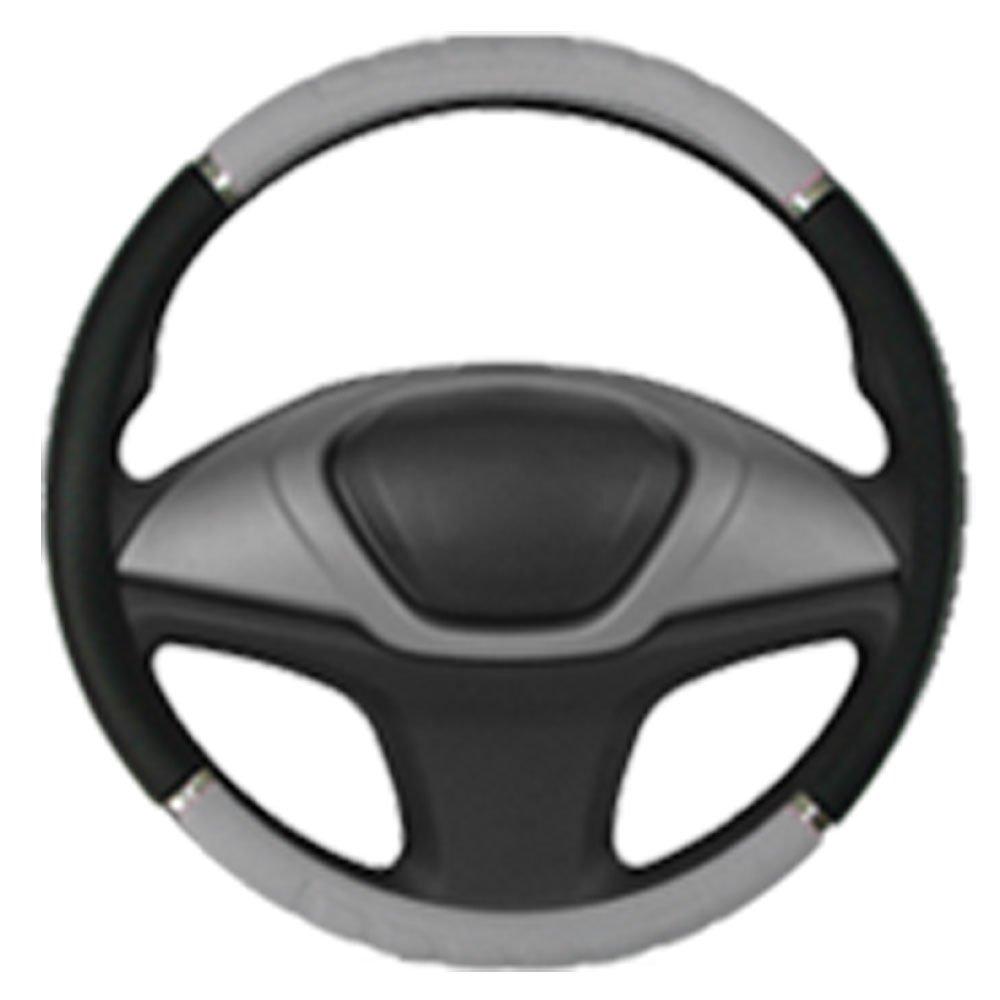 Capa para Volante Preto com Cinza - Imagem zoom