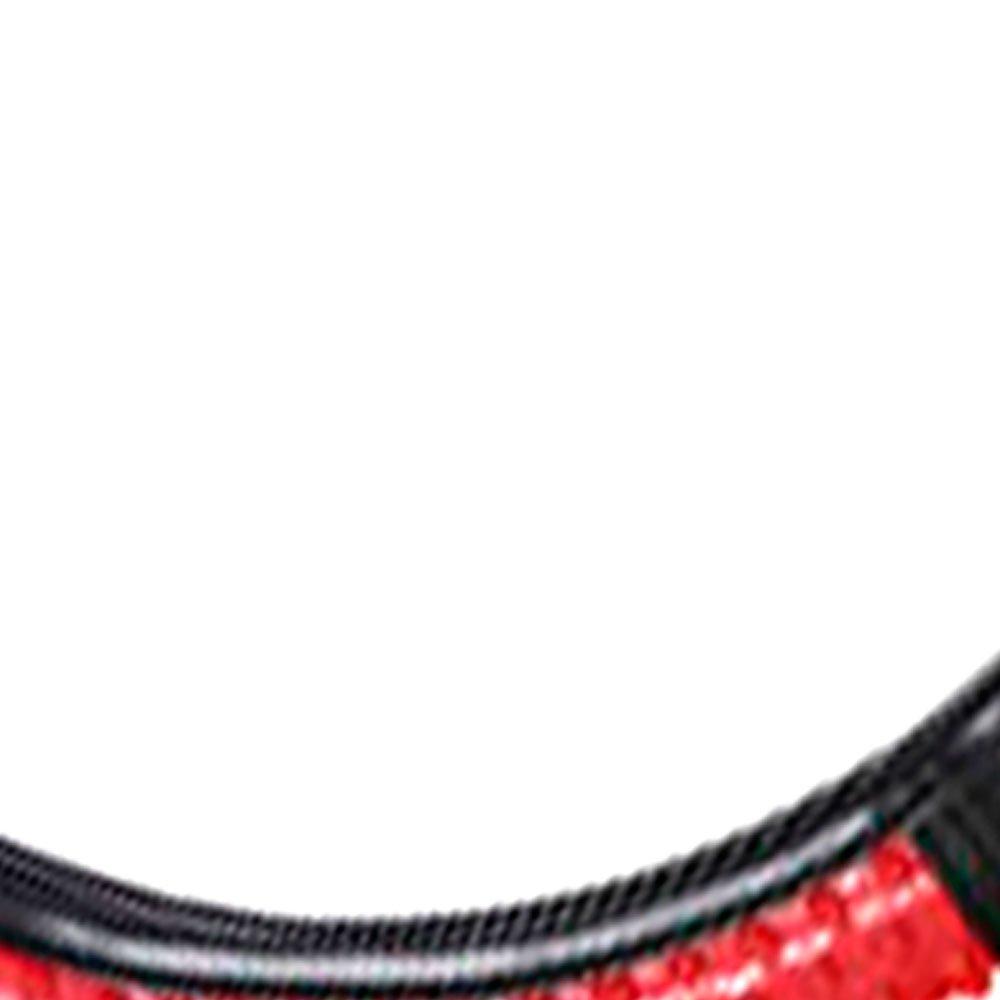 Capa para Volante Preto com Vermelho - Imagem zoom