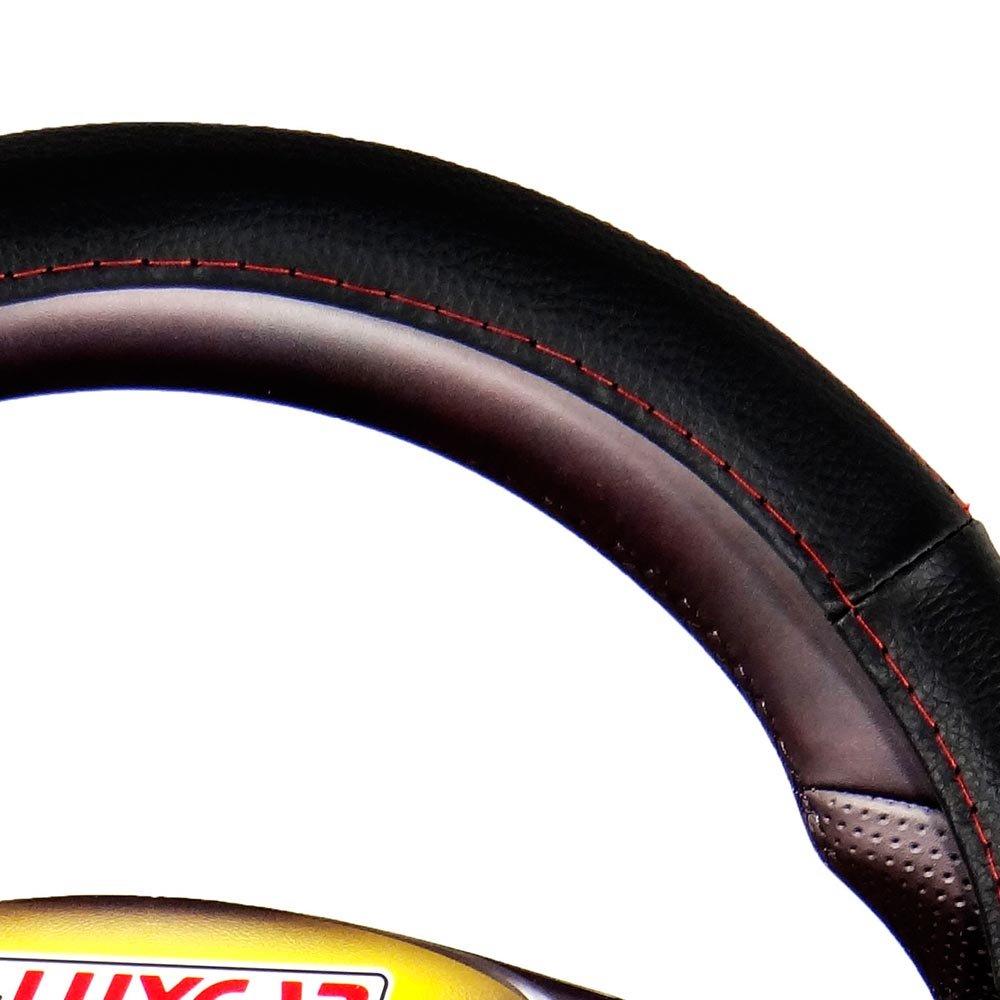 Capa para Volante Sport com Friso Vermelho - Imagem zoom
