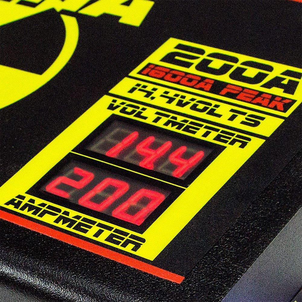 Fonte Automotiva 200A 14,4V com Voltímetro/Amperímetro Digital   - Imagem zoom