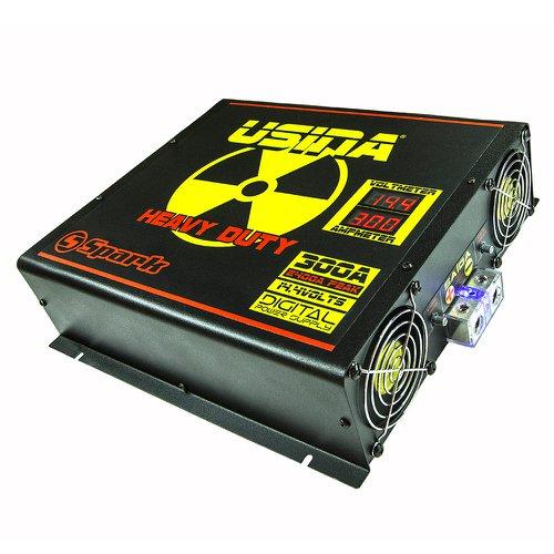 fonte automotiva 300a 14,4v com voltímetro/amperímetro digital 220v