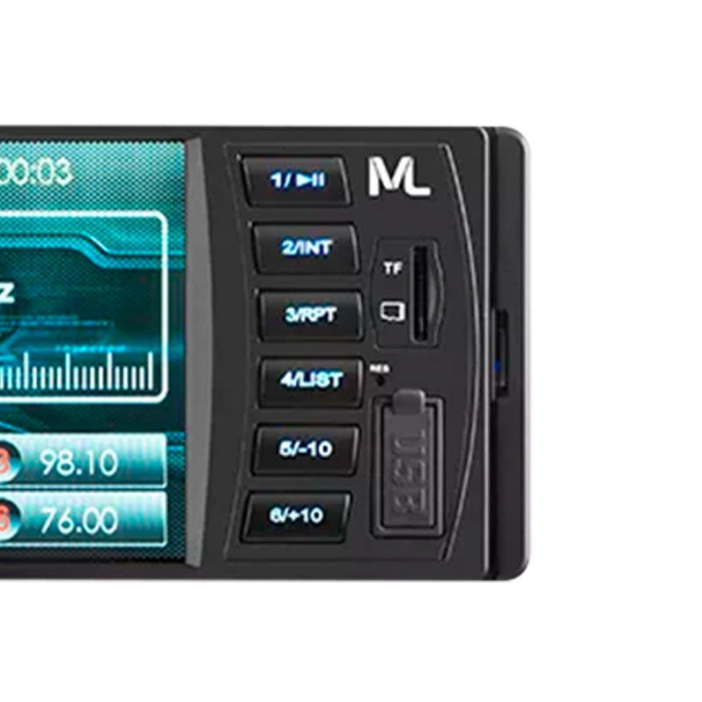 Som Automotivo Rock 4 Mp5 Radio Bluetooth - Imagem zoom
