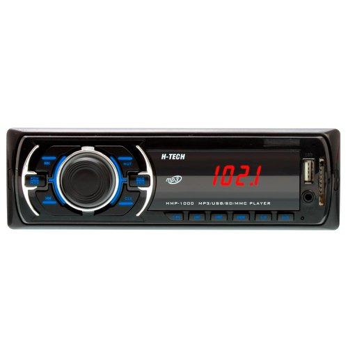 som automotivo mp3 display led com botão preto e leitor usb, sd card e auxiliar