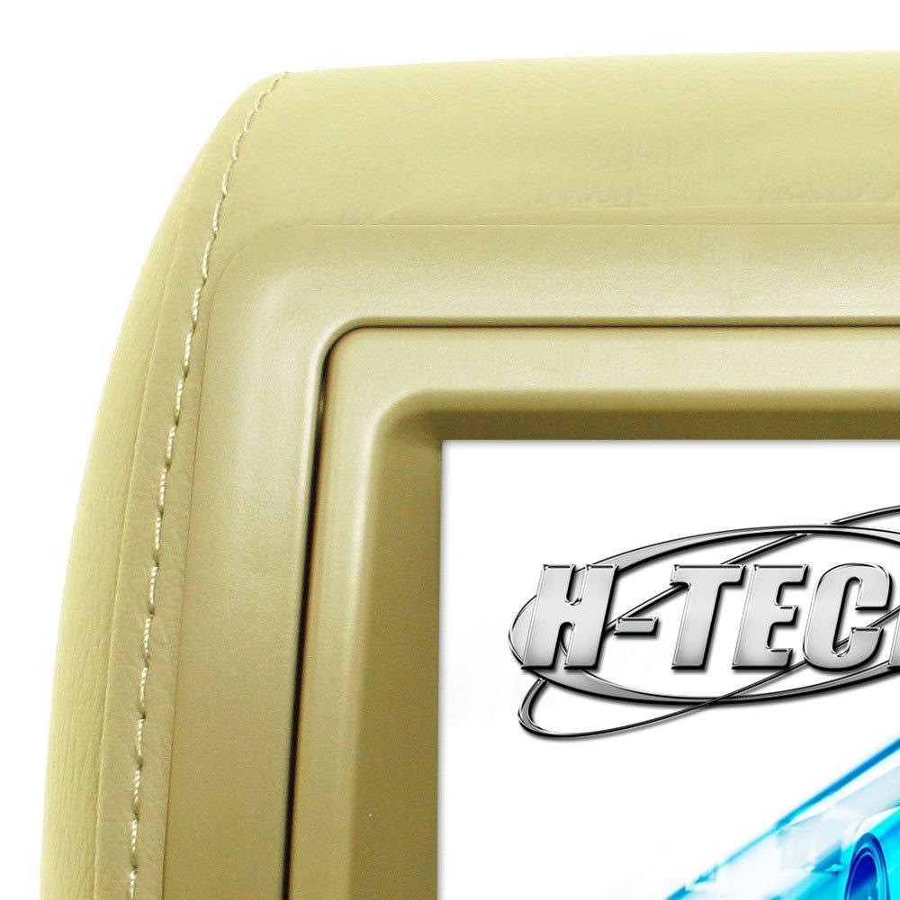 Encosto de Cabeça com Monitor LED e Leitor DVD/USB/MP3/MP4 7 Pol. Bege  - Imagem zoom