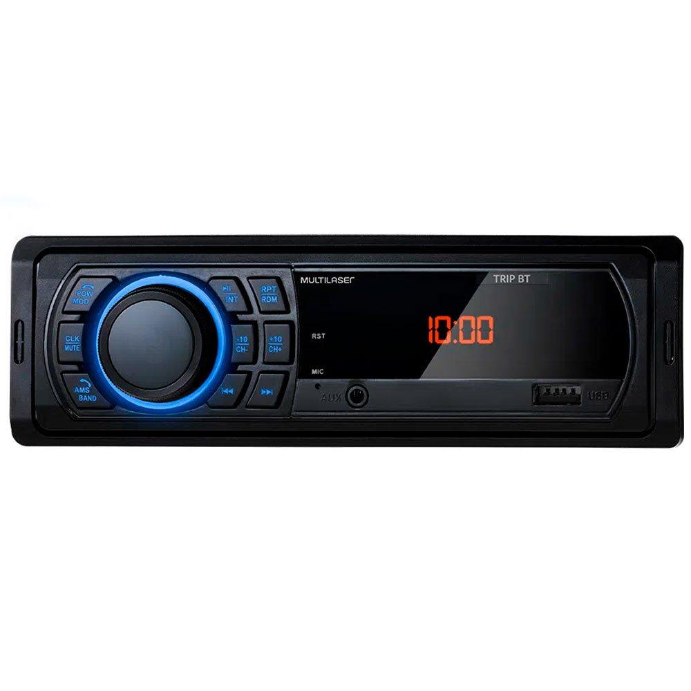 Som Automotivo Trip BT Bluetooth USB e Aux 4x25W RMS 12V - Imagem zoom