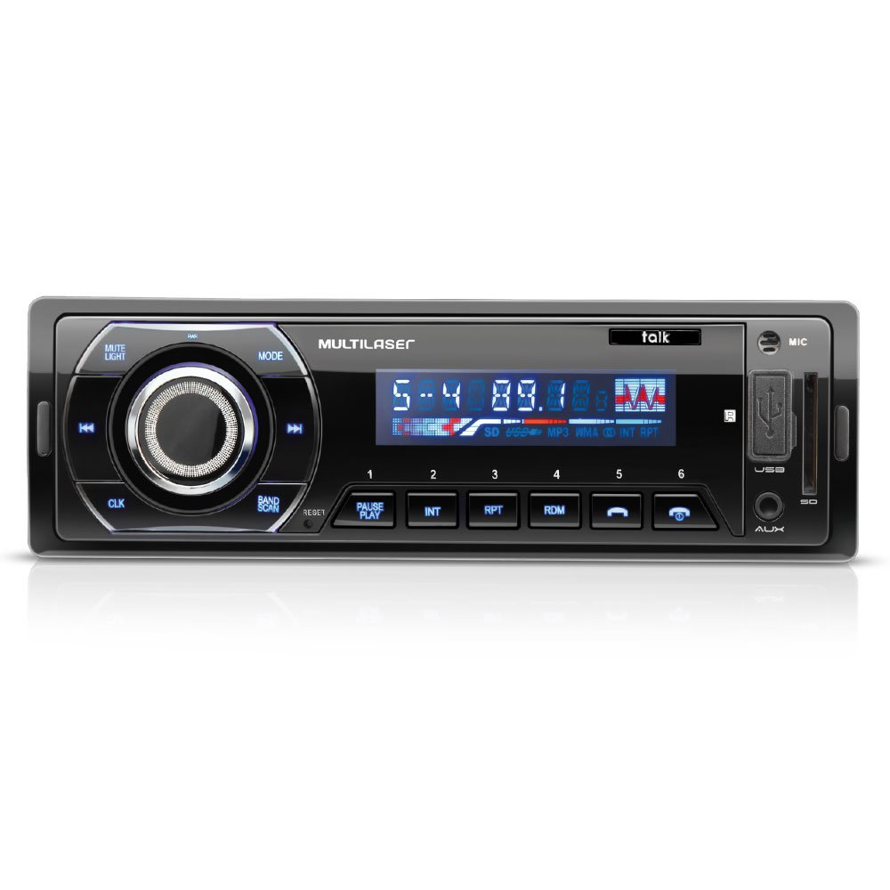 Som Automotivo Talk MP3 Player e Bluetooth - Imagem zoom