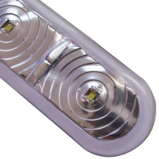 Retro Light Pisca para Retrovisor 12V com 4 Leds Branco - Imagem zoom