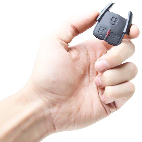 Capa do Telecomando GM com 3 Botões sem Chave  - Imagem zoom