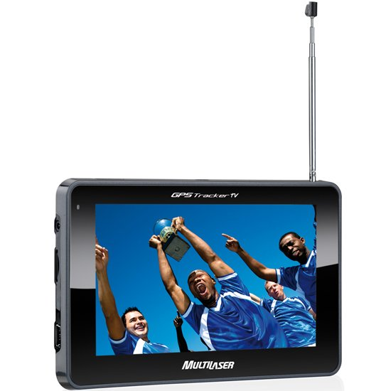 GPS Tracker Touchscreen 4.3 Pol. com TV Digital - Imagem zoom
