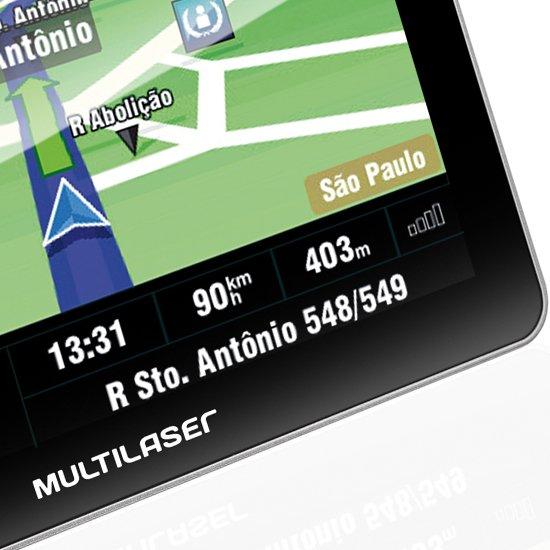 GPS Tracker Touchscreen 7.0 Pol com TV Digital - Imagem zoom