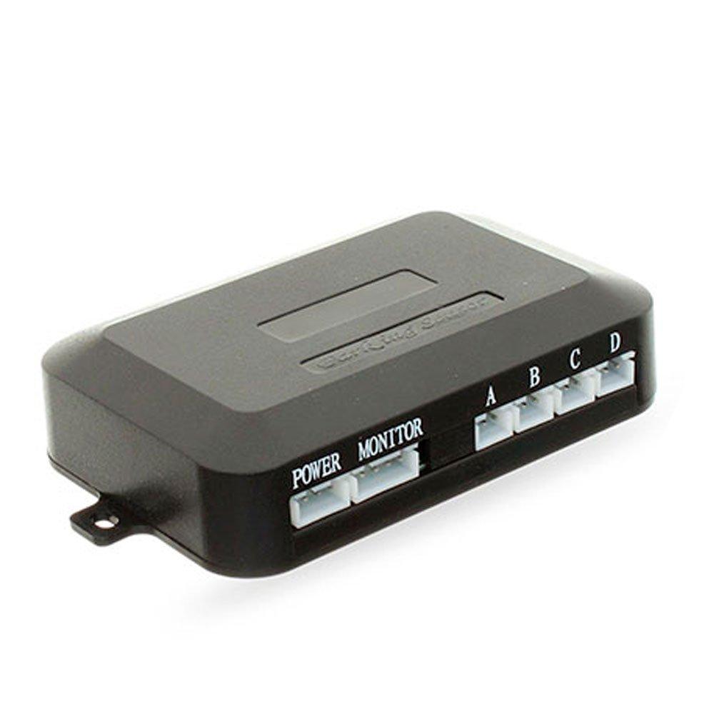 Sensor de Estacionamento 4 Pontos Preto com Display LED Colorido - Imagem zoom