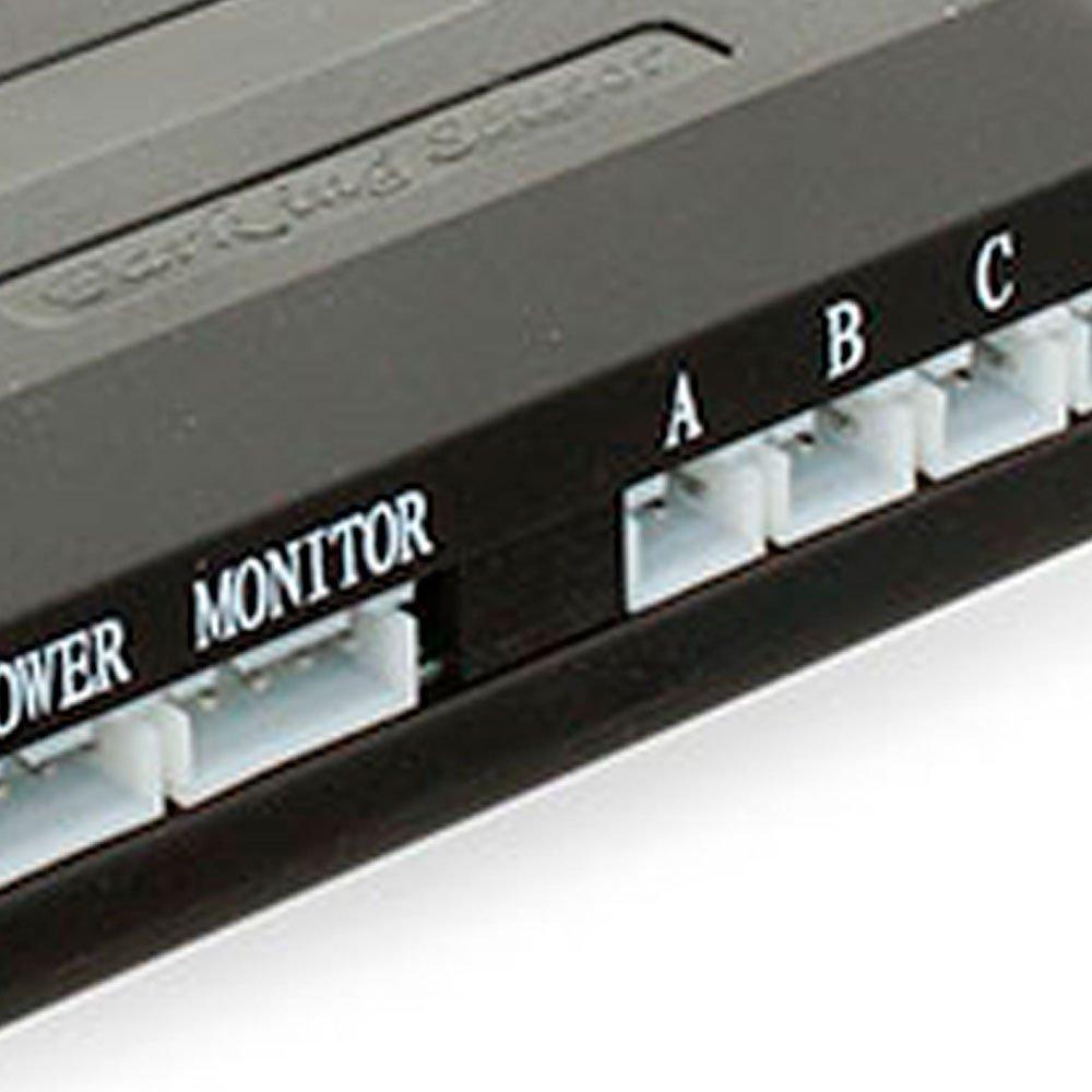 Sensor de Estacionamento 4 Pontos Branco com Display LED Colorido - Imagem zoom