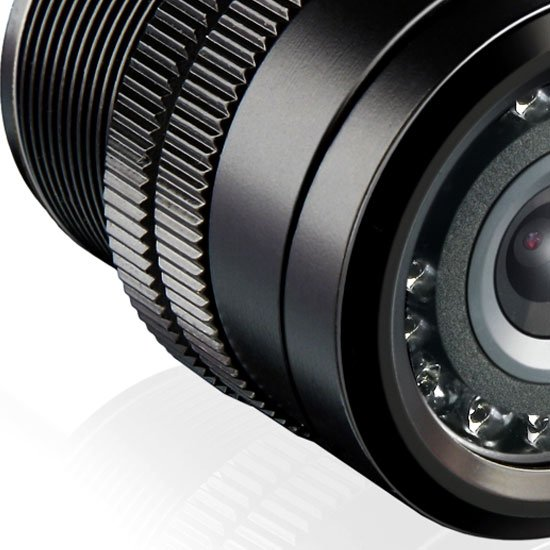 Câmera de Ré com Visão Noturna - Imagem zoom