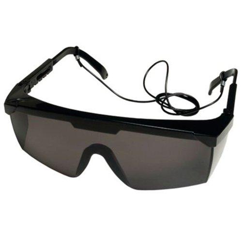 óculos de segurança vision 3000 cinza com tratamento antirrisco
