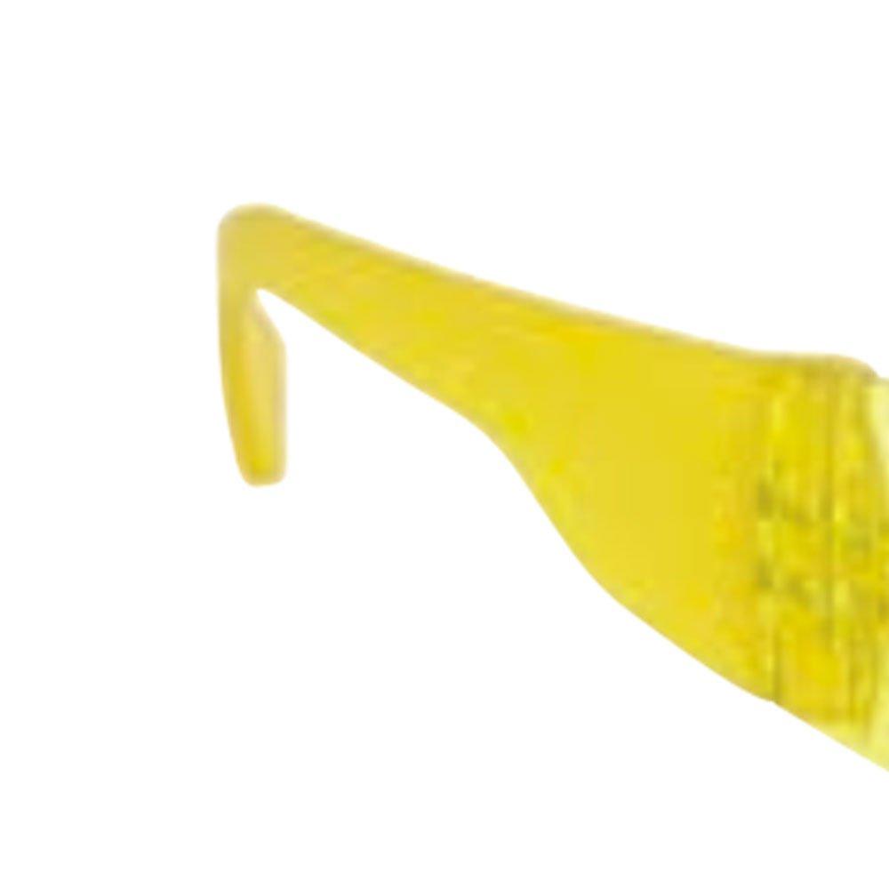 Óculos de Segurança Antirrisco Falcon Amarelo - Imagem zoom
