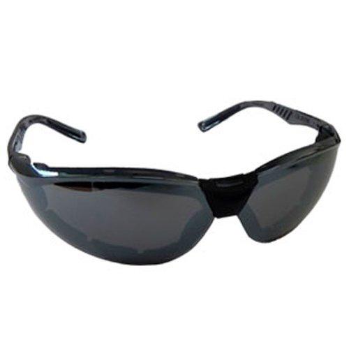 óculos de segurança esportivo cayman f - cinza espelhado