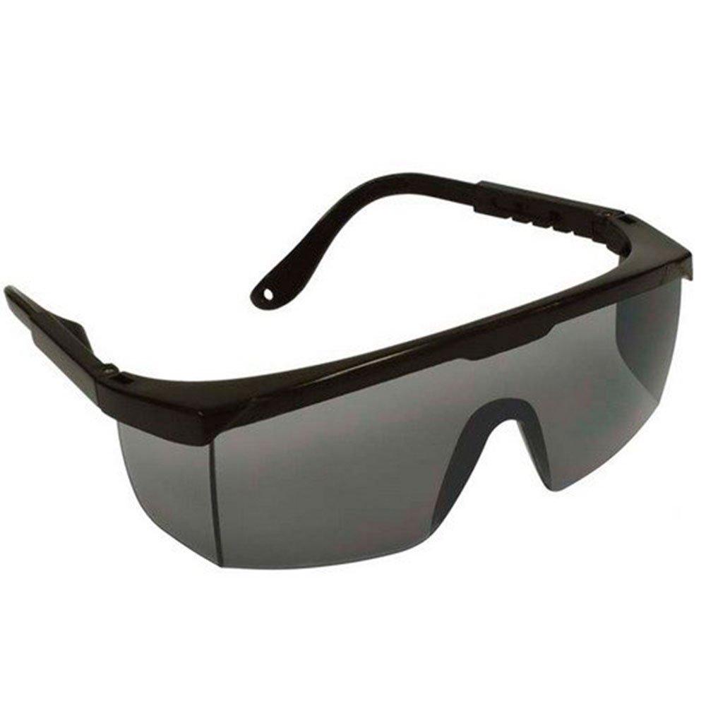 Óculos de Proteção Fênix Anti-risco UVA UVB Cinza Fumê - Imagem zoom 209fb001ef