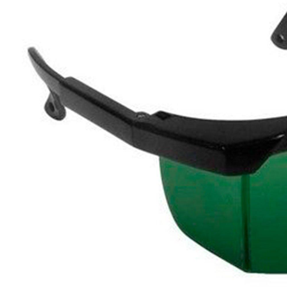 Óculos de Proteção Fênix Anti-risco Verde - Imagem zoom