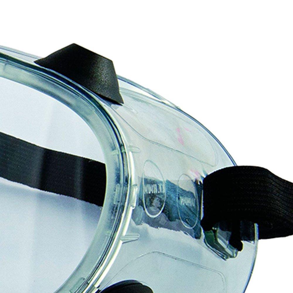 Óculos de Proteção de Ampla Visão Incolor com Válvula - KALIPSO ... 2e10993345