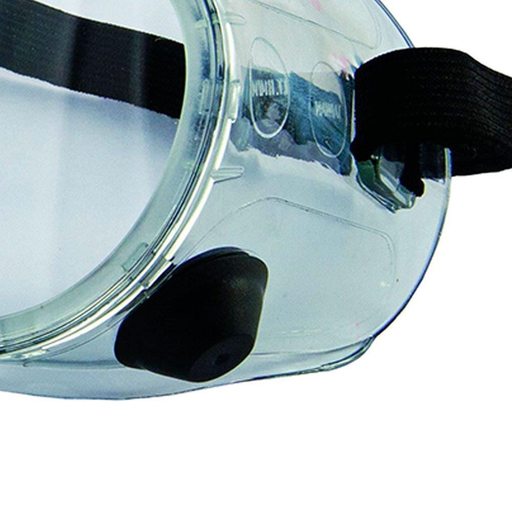 18195a110a9db Óculos de Proteção de Ampla Visão Incolor com Válvula - KALIPSO ...