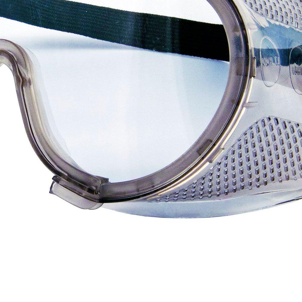 f5de9a2885d1f Óculos de Proteção Rã com Ampla Visão Incolor Perfurado - KALIPSO ...