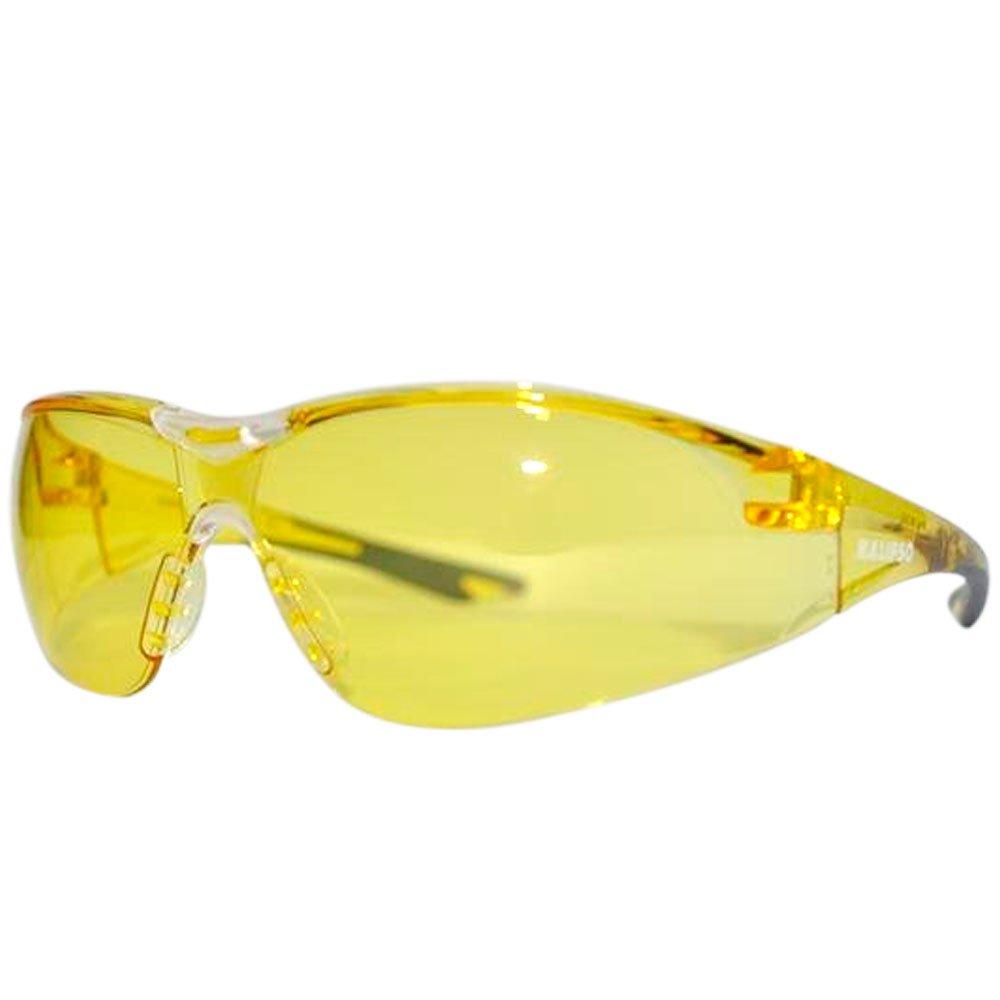 Óculos de Segurança Bali Amarelo - Imagem zoom