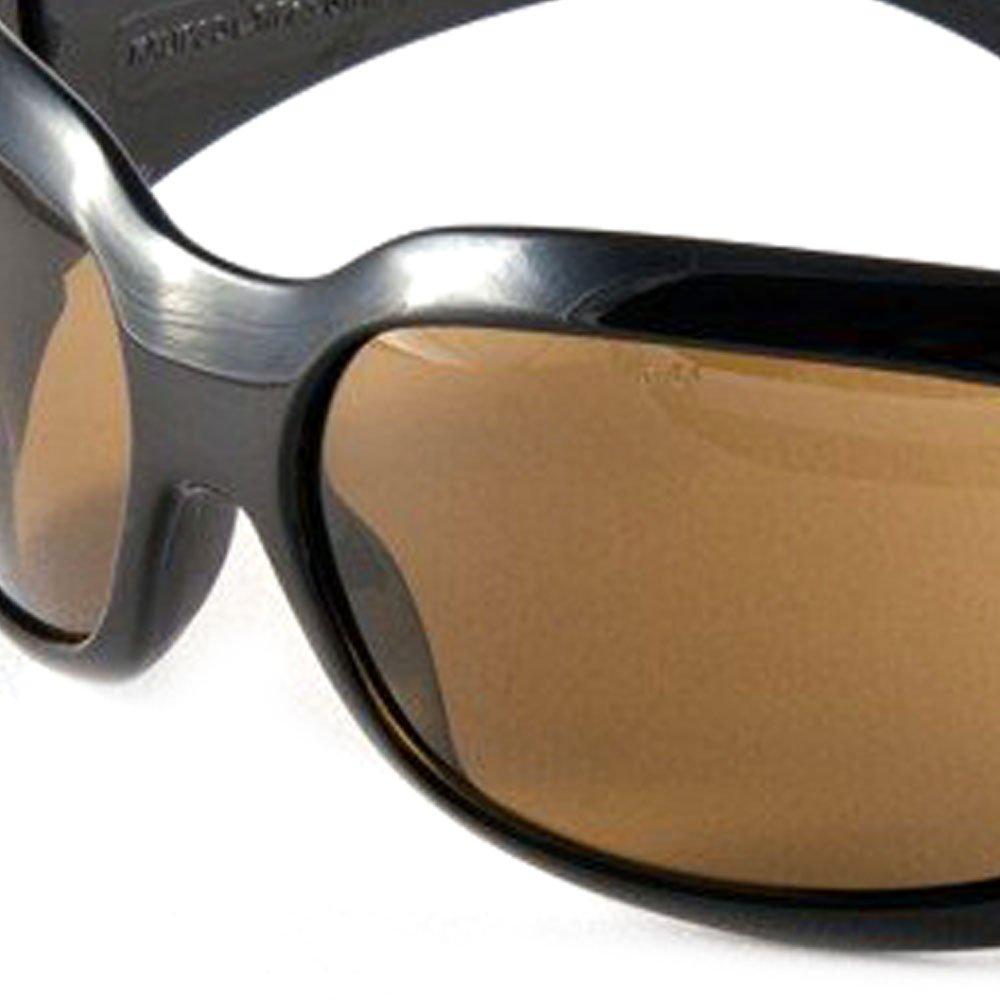 Óculos de Proteção Ibiza Marrom com Armação Preta - Imagem zoom