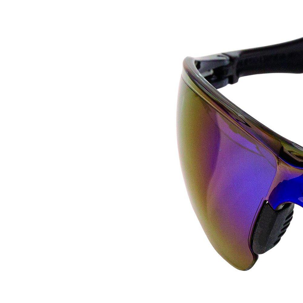 Óculos de Proteção Jamaica Azul Espelhado com Filtro UVA, UVB - Imagem zoom