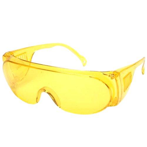 7f14d09f437be Oculos de Protecao Panda Amarelo - KALIPSO-010711 - R  5.99 Leve ...