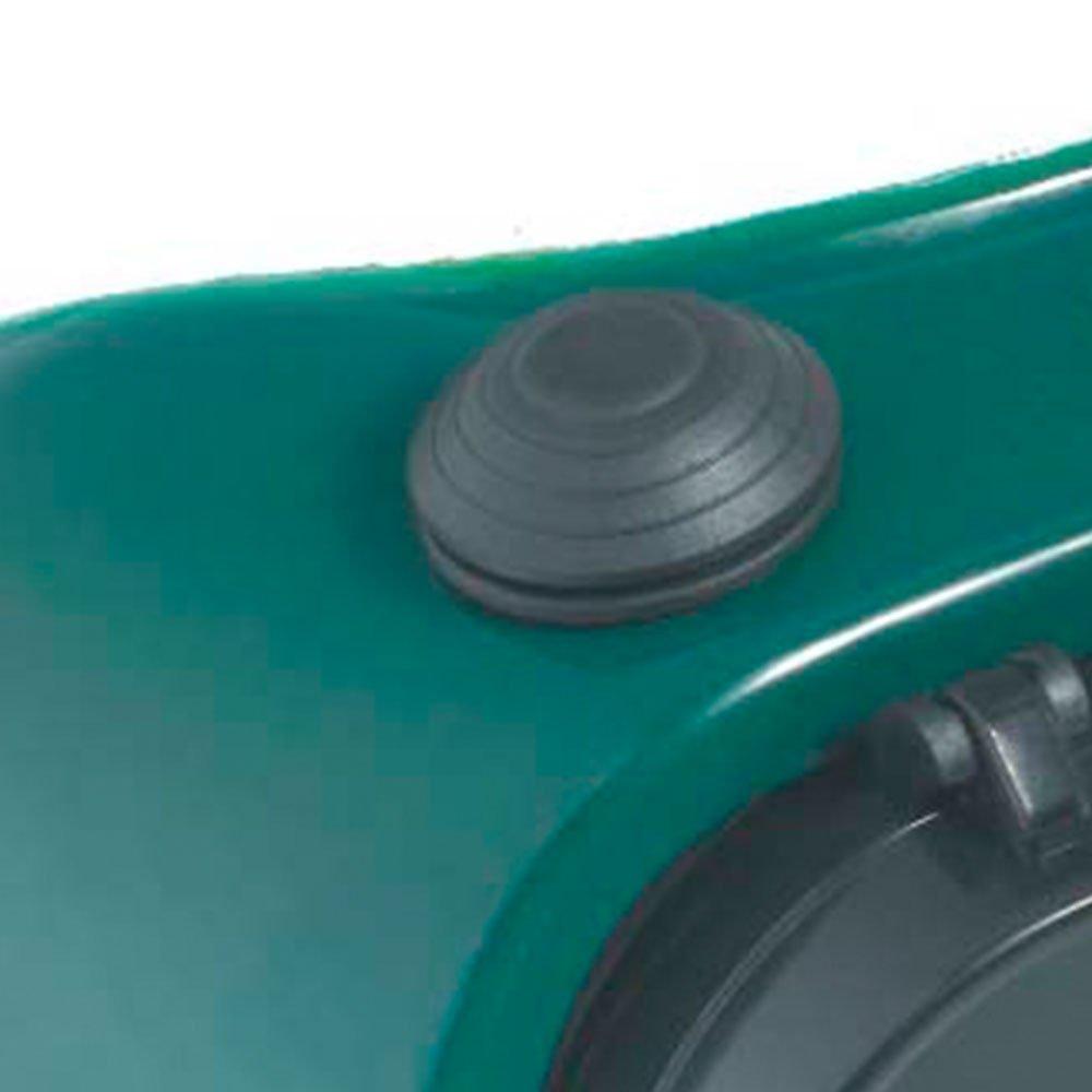 258327dba5d57 Óculos CG 250 com Visor Articulado Redondo sem Lentes - CARBOGRAFITE ...