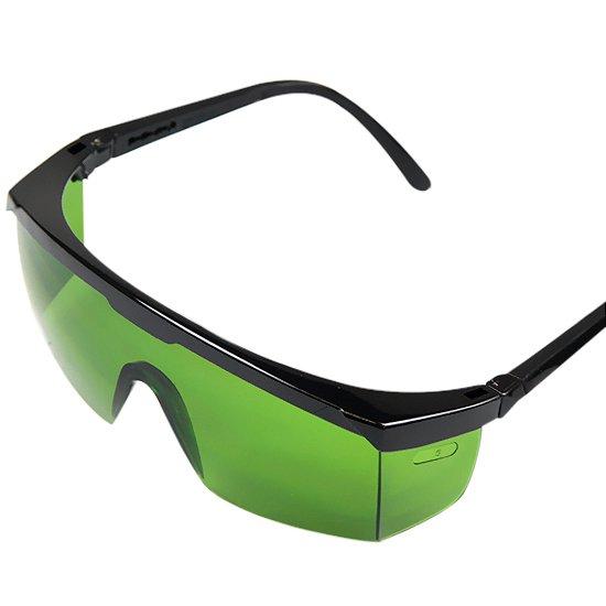 Óculos de Proteção Verde Anti-Risco  - Imagem zoom