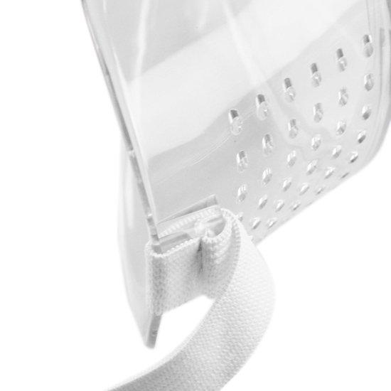 Óculos de Proteção Incolor Ampla Visão Perfurado - Imagem zoom