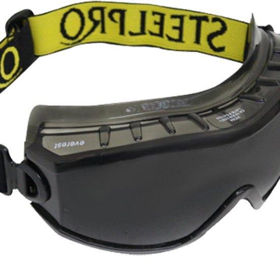 9fe421df5ab53 Óculos de Segurança Everest Ampla Visão Cinza - STEEL PRO-EVEREST ...