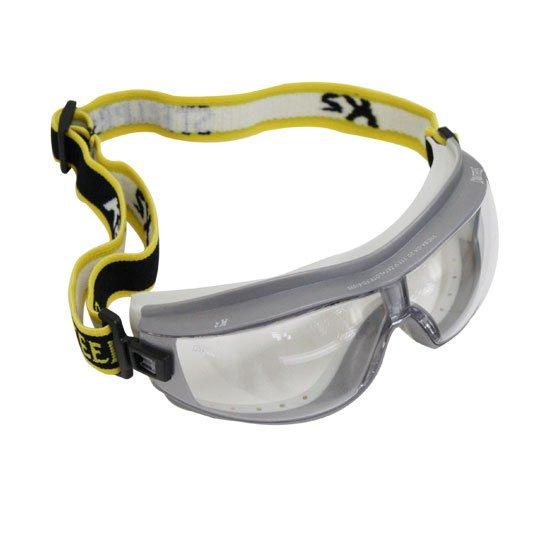 Óculos de Segurança K2 com Ampla Visão - Lente Incolor  - Imagem zoom