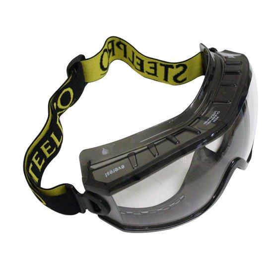 d9db7a8cdca23 Óculos de Segurança Everest com Ampla Visão - Incolor - STEEL PRO ...